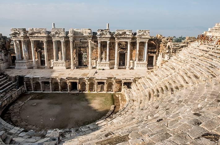 Denizli Hierapolis Arkeoloji Müzesi Pamukkale   Gymnasium Hierapolis Kazıları Hierapolis Antik Kenti Antik Roma Hamamı